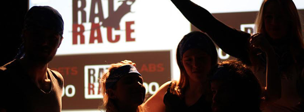 Rat Race by The Suggestibles | Sat, 28 Sep | Alphabetti